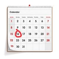 January 2012 Wall Calendar