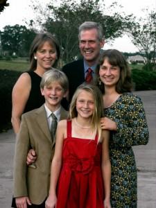 The Tony Snow family