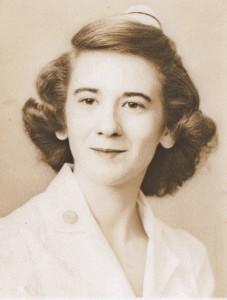 Betty Jo Snow as a nurse