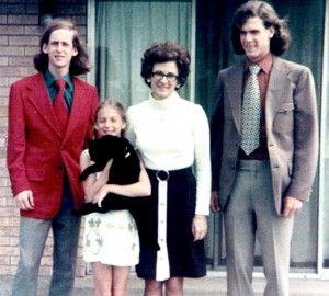 The Snow Family in early 70's