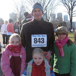 Mike Dellosso and his daughters Hanover, Pensyvania