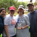 Top team fundraiser - Team Shaffer.crop