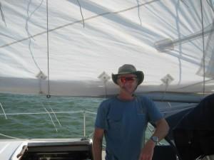 Anthony Woody sailing