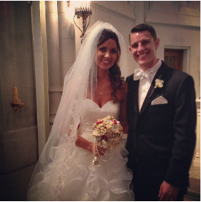 Meagan Stass jess's wedding