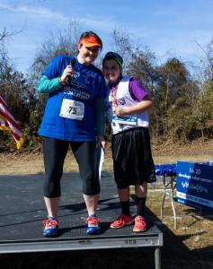 Nikol and Carson at the inaugural Get Your Rear in Gear - Little Rock.