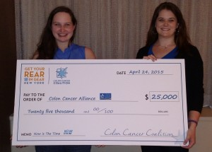 Colon Cancer Alliance Check Presentation