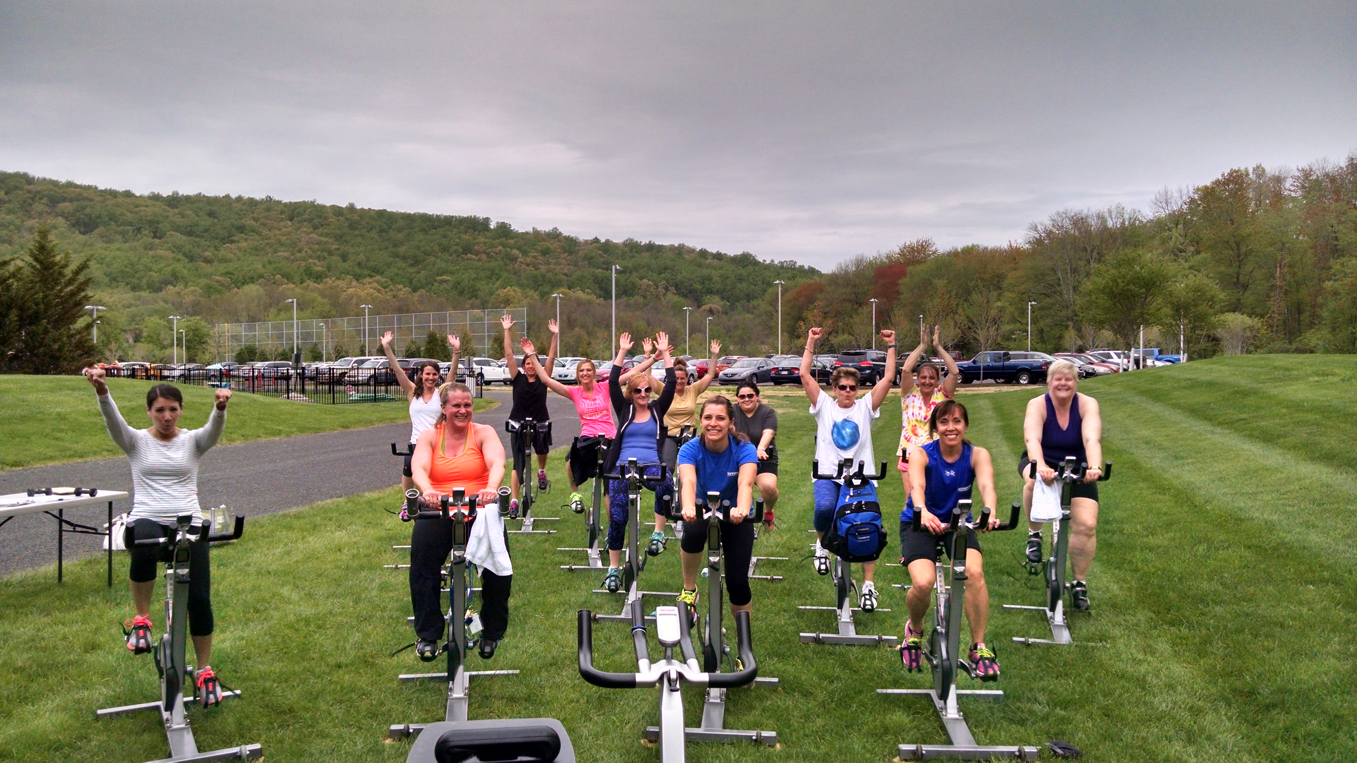 Olympus Rides to Fundraise