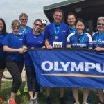 Tour de Tush Allentown presenting sponsor Olympus