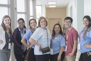 The team before a Super Surgery Saturday event. Photo credit: Lia Marie Photography