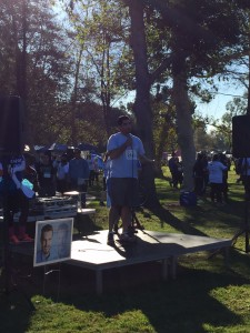 Dr. Ramin Zolfagari speaking on behalf of Access OC at our 2016 Orange County race.