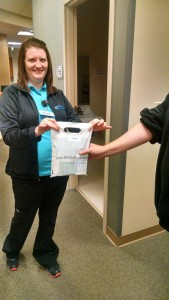 Northside Hospital Grant in Action: Colon prep kits! | coloncancercoalition.org
