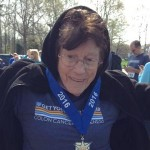 2016 Get Your Rear in Gear age group winner, 90 year old runner