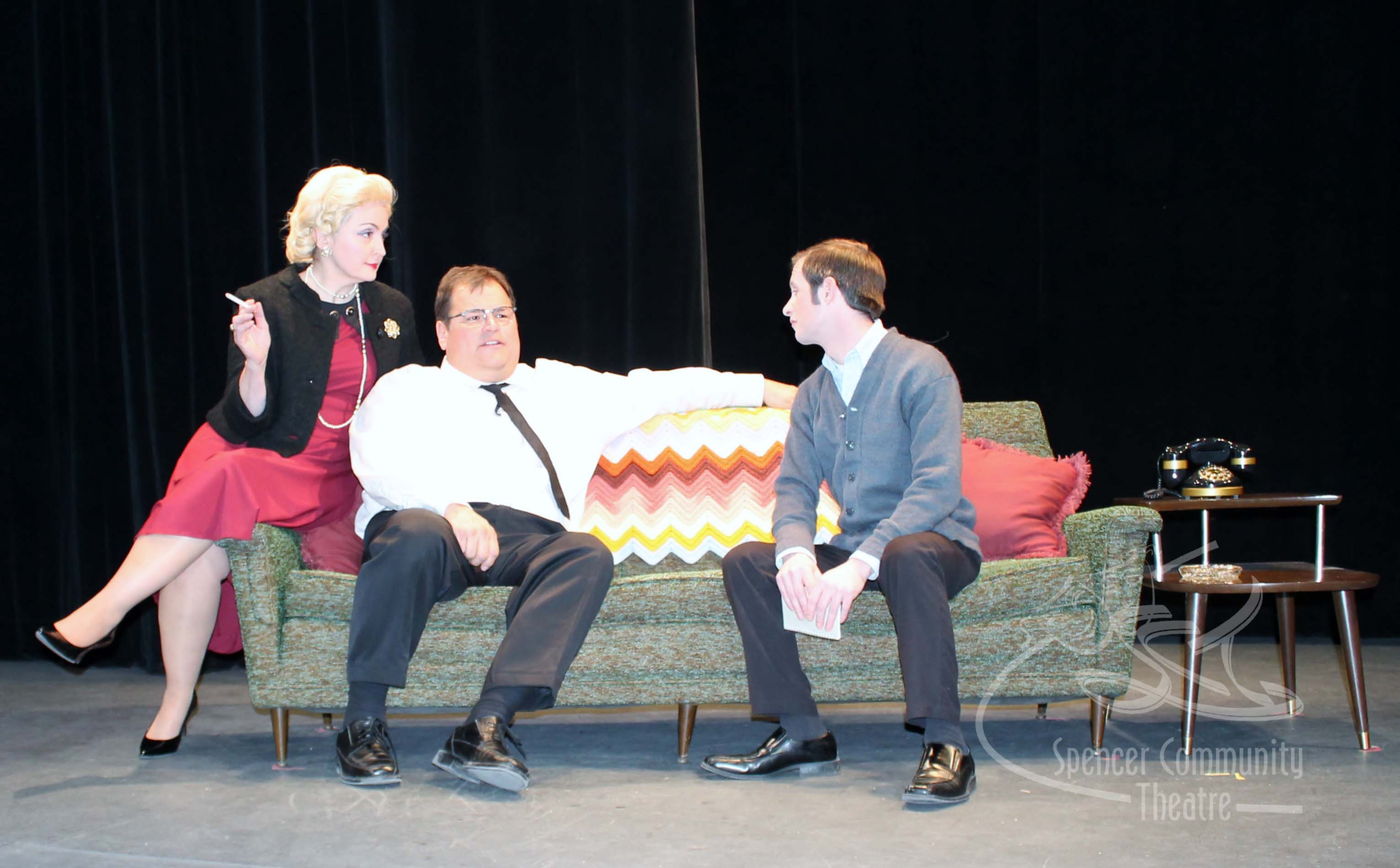 "Spencer Community Theater ""LOMBARDI"""