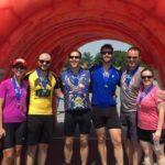 Tour de Tush Allentown finishers