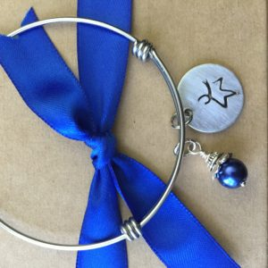 Blue Legacy Designs colon cancer awareness jewelry