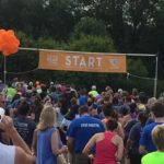 Get Your Rear in Gear Tinley Park 5K Start