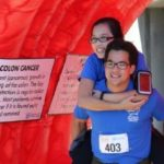 Photo opp in the Giant Colon at Get Your Rear in Gear San Francisco, photo by Scott Benbow