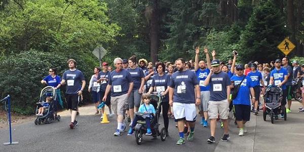 Get Your Rear in Gear Portland walker start