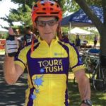 Tour de Tush Twin Cities rider