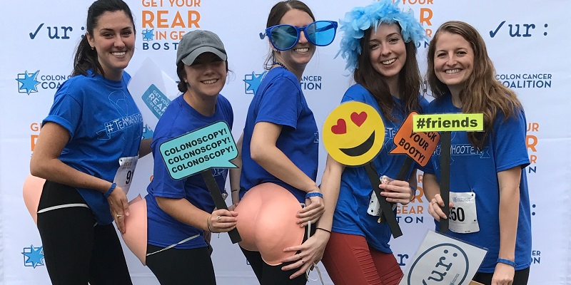 Get Your Rear in Gear Boston photo booth