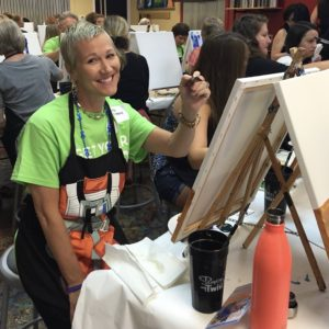 Leta Withers painting.