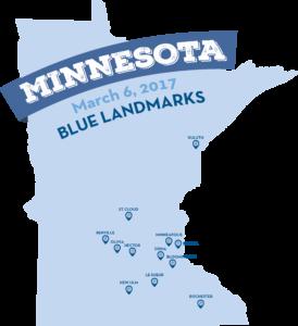 Blue Landmarks March 6, 2017