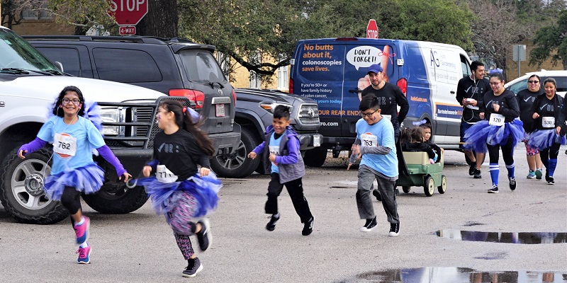 Get Your Rear in Gear Austin Kids' Run
