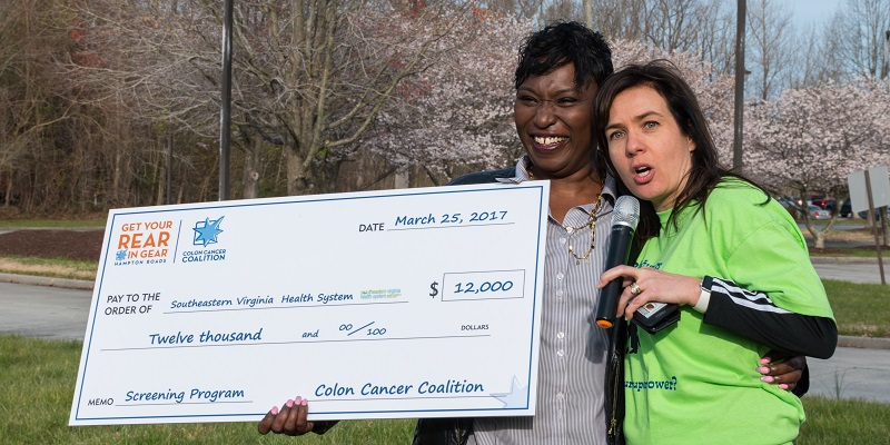 Get Your Rear in Gear Hampton Roads check presentation