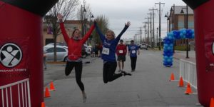 Get Your Rear in Gear Tulsa Finish Jump