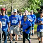 Get Your Rear in Gear Baton Rouge walk start