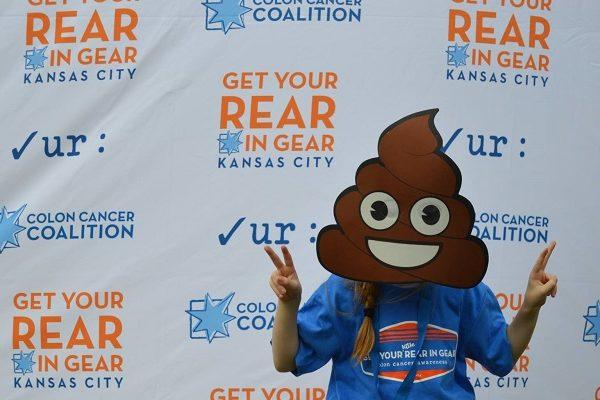Get Your Rear in Gear Kansas City peaceful poop emoji