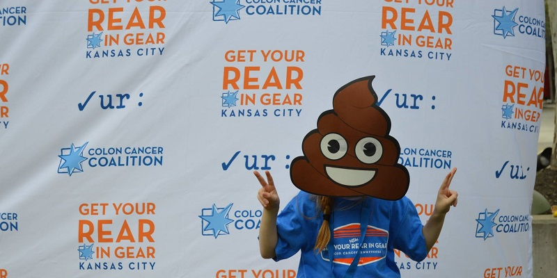 Get Your Rear in Gear Kansas City peaceful poop emoji
