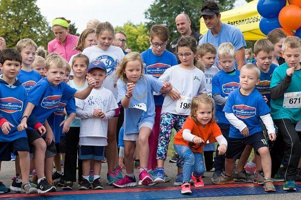 Get Your Rear in Gear Twin Cities kids start