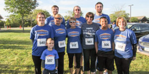 Get Your Rear in Gear Muscatine team & survivor
