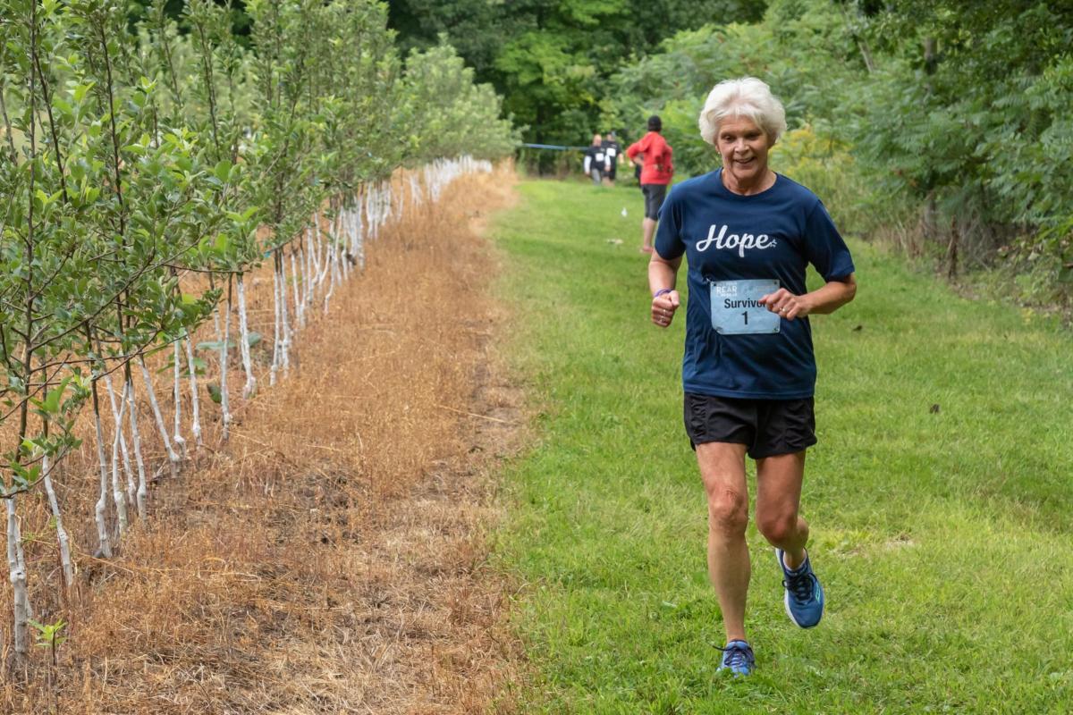 Get Your Rear in Gear New Hampshire survivor runner