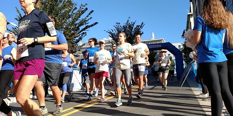 Get Your Rear in Gear Winston Salem run start