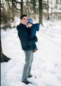 Matt with son Cullen.