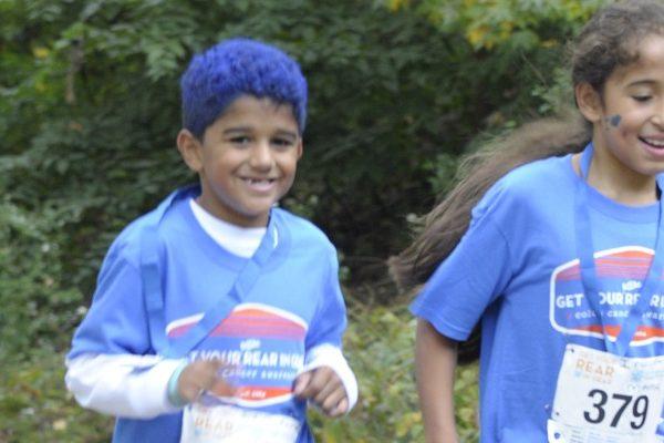 Get Your Rear in Gear New York City kids run