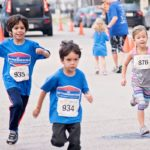 Get Your Rear in Gear Houston kids run