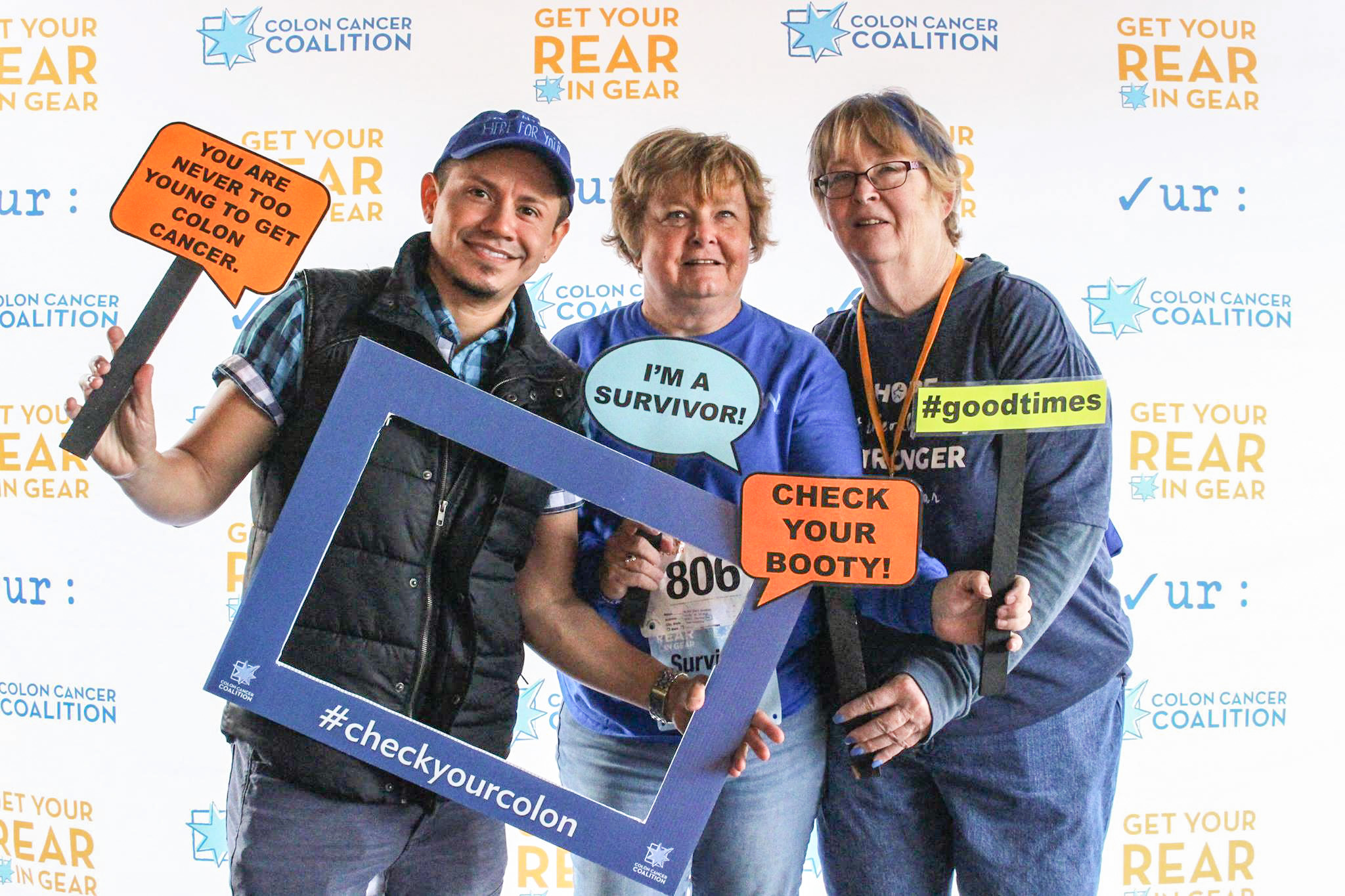 Colontown Leaders at Get Your Rear in Gear