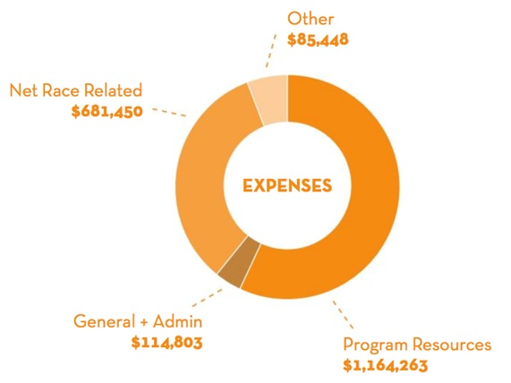 2016 Colon Cancer Coalition Audited Expenses