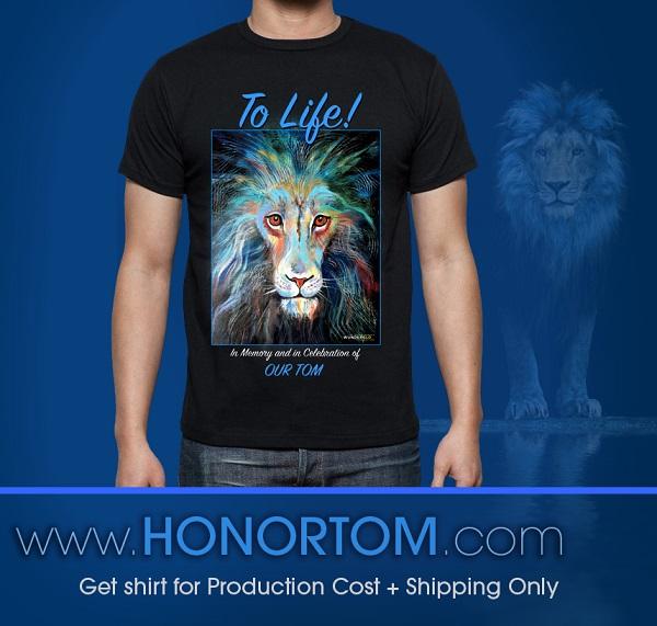 #Lights4thLion Memorial Shirt