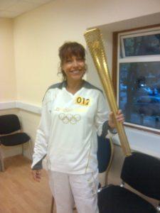 Deborah Ward-Johnstone Olympics