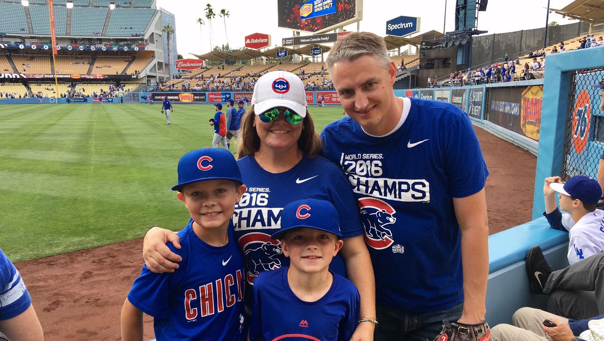 Kara Mathews Family baseball