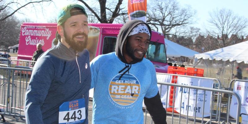 Get Your Rear in Gear Philadelphia finish