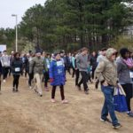 Get Your Rear in Gear Raleigh walk start