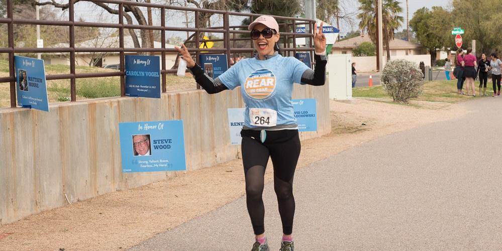 Get Your Rear in Gear Tucson women finisher