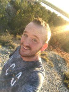 Codey Gage on a hike.