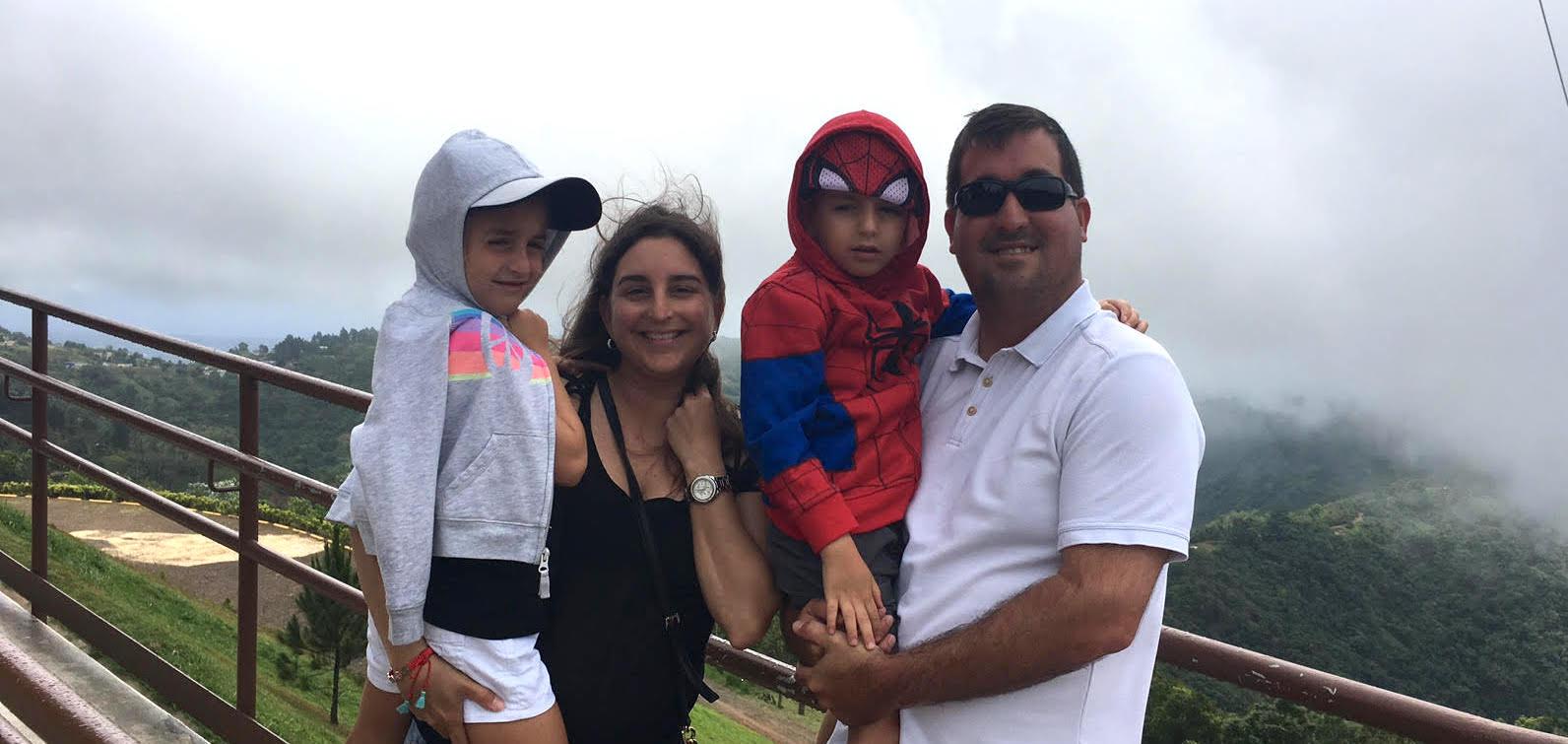 Rebeca Busquets Villegas family scenery
