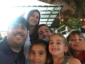 Rebeca Busquets Villegas family & brother